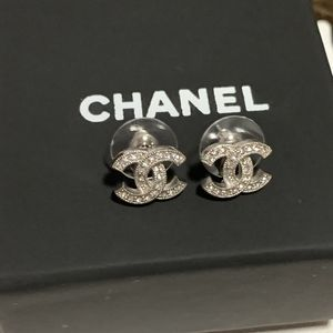 Authentic Chanel Earrings with box